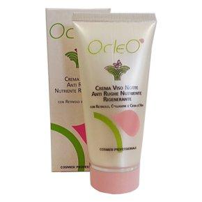 Ocleò - Crema Notte Anti Rughe Nutriente Rigenerante 50ml