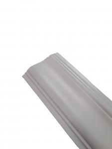 Mostra Coprifilo Legno Ayous Barocco Bianco - DIMENSIONI: 7x1,2cm - Altezza: 2,25mt - Scegli tu le misure!