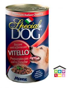 Special dog Bocconi con Vitello  Formato: 400 g