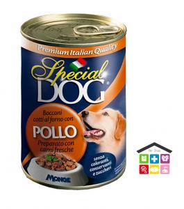 Special dog Bocconi con Pollo  Formato: 400 g