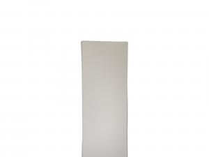 Mostra Coprifilo Legno Ayous Bianco - DIMENSIONI: 8x1cm - Altezza: 2,25mt - Scegli tu le misure!