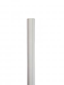 Profilo Asta Parati Cornice Legno Ramino Laccato Bianco - DIMENSIONI: 1,8x0,3cm - Altezza: 2,00mt