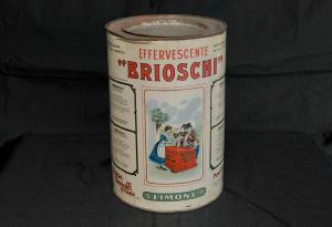 Scatola vintage in latta BRIOSCHI