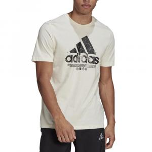 Adidas T-Shirt Big Logo Bianca da Uomo