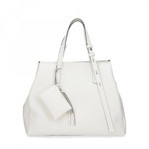 Loristella borsa Ashley 2440 pelle bianco