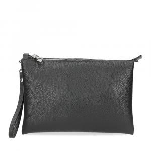 Loristella borsa pochette Lily 2525 pelle nera