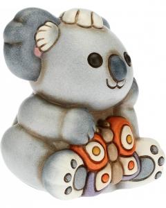 Koala Koki con farfalla