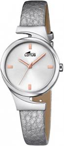 Orologio donna Lotus solo tempo con cinturino in pelle argento 18342/1