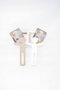 Pair Appendini D Aporta In Plastic Super78 Shape Of Man 27 Cm
