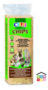 Cliffi segatura conigli 1 kg pressata