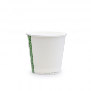 Ciotole asporto zuppe in cartoncino - 650ml serie green stripe