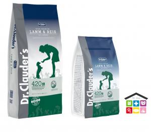 Dr. Clauder's | Secco Cane - Linea High Premium | Agnello e Riso / Sacco 15Kg