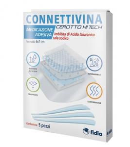 Connettivina Cerotto Hitech 6x7cm 5 Pezzi