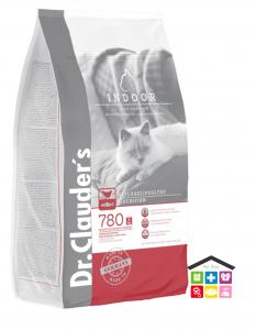 Dr. Clauder's | Secco Gatto - High Premium | Adult Indoor / Sacco  / 1,5kg / 4 Kg / 10kg