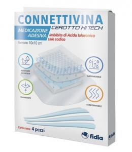 Connettivina Cerotto Hitech 10x10cm 4 Pezzi