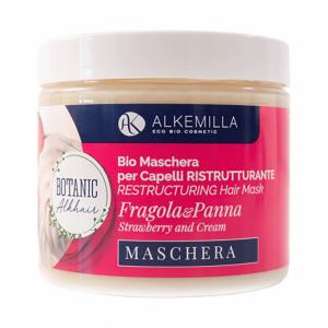 Maschera per capelli ristrutturante Fragola e Panna 200 ml