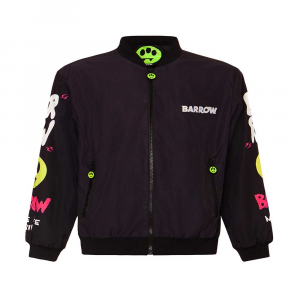 BARROW Jacket Nylon Bomber Black