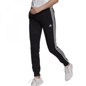 Adidas Pantalone Essential Nero da Uomo