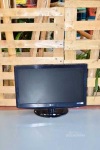 Televisore LG Modello 22LD320 Compreso Di Cavo E Telecomando