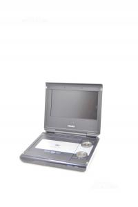 Lettore Dvd Portatile Philips Modello PET725 Compreso Di Cavo E Telecomando