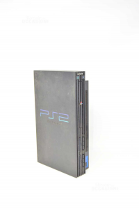 Play Station 2 Black Included Of To Joystic And Cables