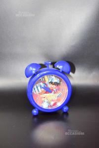 Allarm Clock The Knights Of Zodiaco Blue