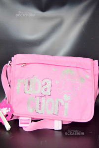 Shoulder Strap Pink Ruba Hearts New