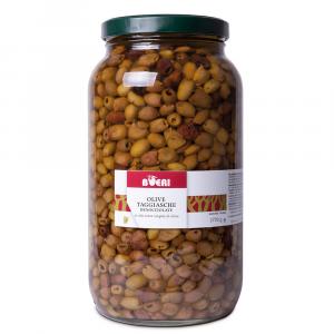 Olive Taggiasche denocciolate  sott'Olio Extra Vergine 2700 g
