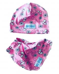 Set baby ape: cappello + bavetta baby