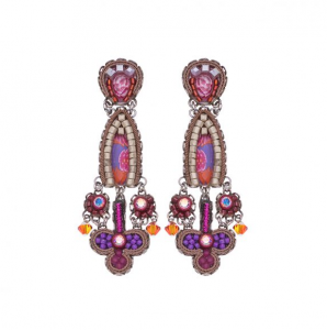 Deep Fuchsia Earrings