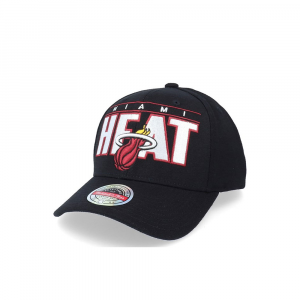 Mitchell e Ness Berretto Heat Nero Unisex