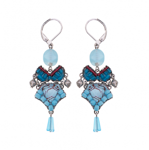 Turquoise Horizon Earrings