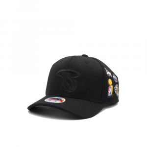 Mitchell e Ness Berretto Heat Nero da Uomo