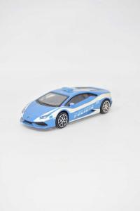 Macchina Polizia Lamborghini 18 Cm