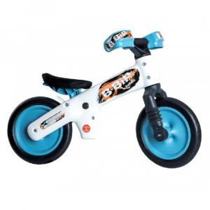 Bicicletta pedagogica B-Bip white blue