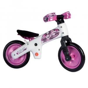 Bicicletta pedagogica B-Bip white pink