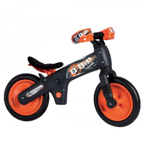 Bicicletta pedagogica B-Bip grey orange