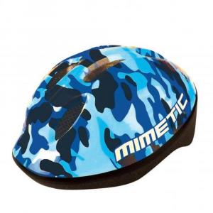 Caschetto bici per bambini mimetic blue