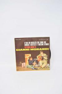 Vinile 45 Giri Gianni Morandi C'era Un Ragazzo Che Come Me Amava I Beatles