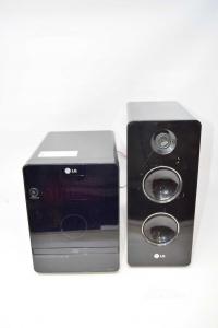 Stereo LG Con Una Cassa Nera Modello FB162-D0U
