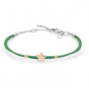 Bracciale donna Gioielli Comete stella in argento 925 BRA157