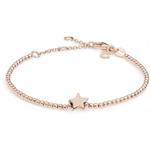Bracciale donna Gioielli Comete stella in argento rosè 925 BRA153