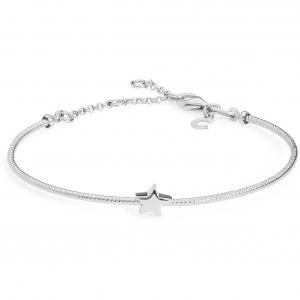 Bracciale donna semirigido Gioielli Comete stella in argento 925 BRA162