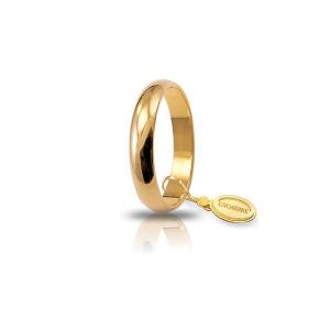 Unoaerre-Fede classica gr.4 in oro giallo