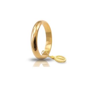 Unoaerre-Fede classica gr.5 in oro giallo