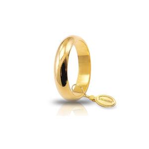 Unoaerre-Fede classica gr.7 in oro giallo