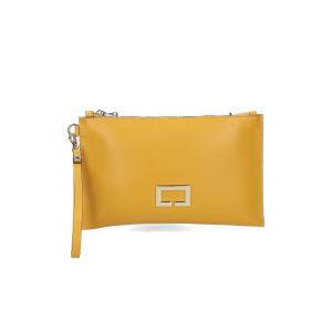 Loristella borsa pochette Janis 2466 pelle gialla
