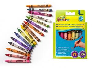 Crayola 16 Pastelli Triangolari