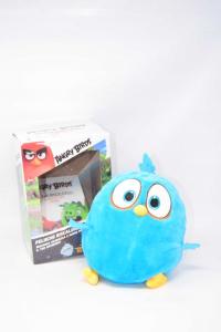 Peluche Angry Birds Azzurro Riscaldabile E Lavabile
