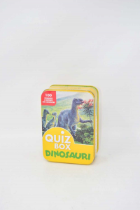 Gioco Quiz Box Dinosauri 100 Domande E Risposte. S